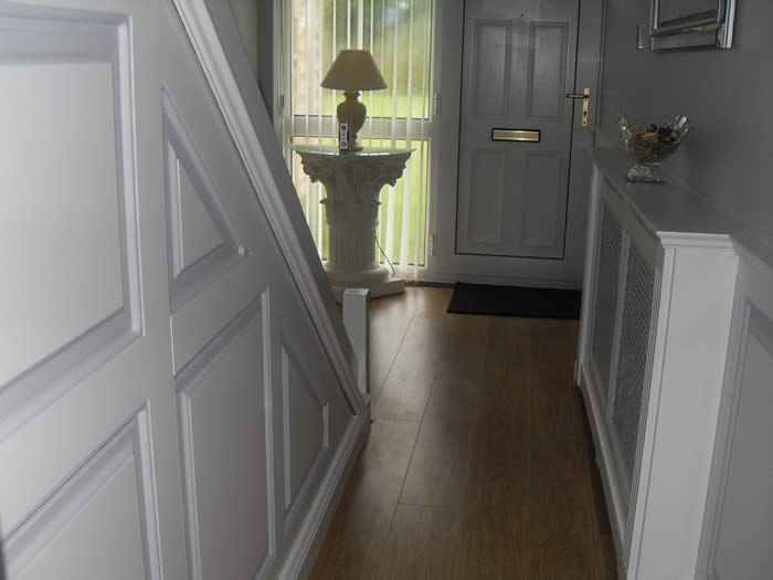wall panels by wall panelling experts entrance hall devon made in teh uk by wall panelling experts