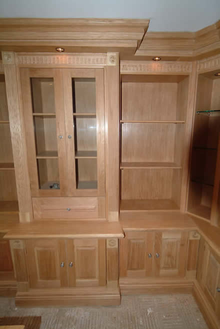 oak cabinets by wall panelling bookcases oak by wall panelling experts made in the uk