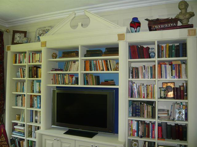 bookcase and panelling for a library cheshire