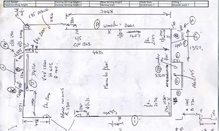Measurements provided by us or customer