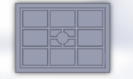 Dimensions for Wall F