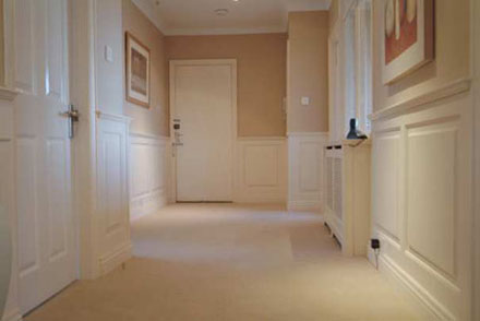 georgian hallway panelling harrogate apartments made in the uk by wall panelling experts