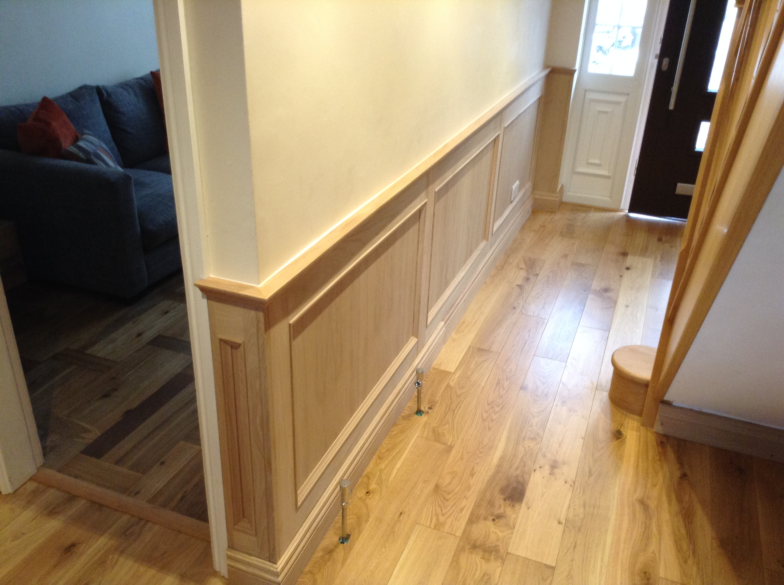 oak panelling by wall panelling experts