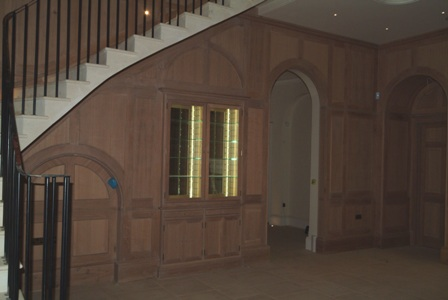 oak wall panelling by wall panelling forest de bere