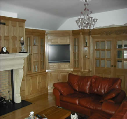 oak wall panelling for studies made in the uk by wall panelling experts for  Guernsey