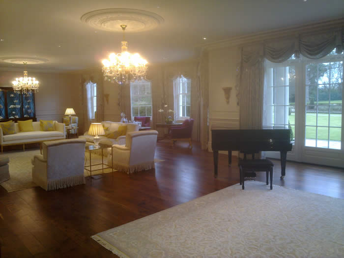 living room wall panelling by wall panelling experts bellefield hall london