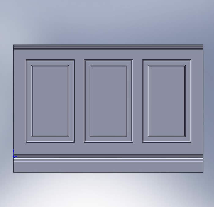 skirting and wall panelling tld