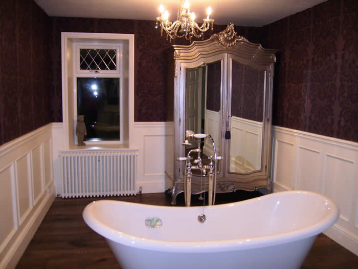 bathroom wall panelling by wall panelling