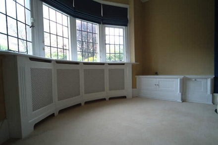 made to measure radiator covers by wall panelling experts