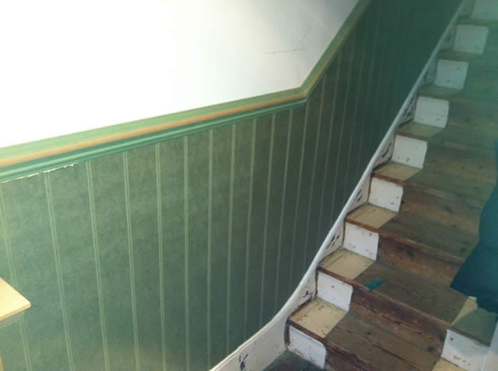 read and bead panelling entrance hall wall panelling brighton