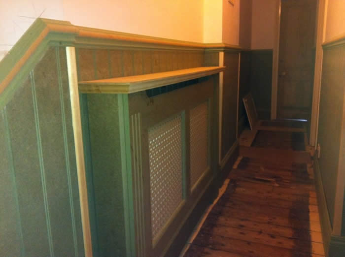 read and bead wall panelling entrance hall wall panelling brighton