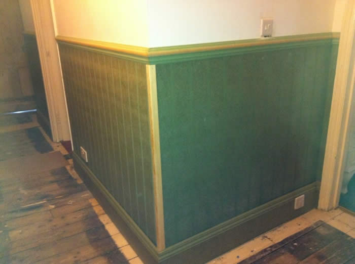 read and bead wall panels entrance hall wall panelling brighton