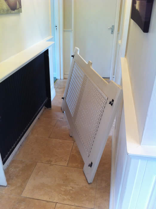 radiator covers by wall panelling how to fix