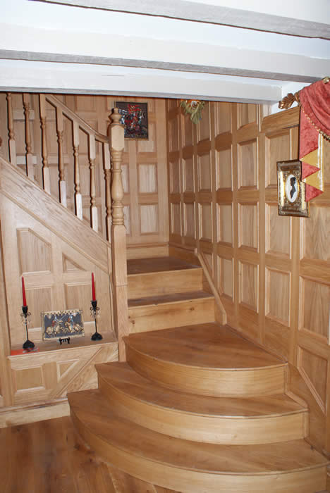 staircase wall panels by wall panelling experts made in the uk