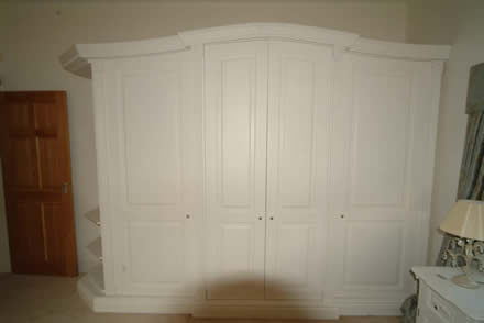 bedroom wardrobes from wall panelling cheshire