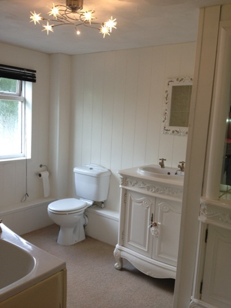 tongue and groove wall panelling bathrooms the secret garden south wales with sykes cottages