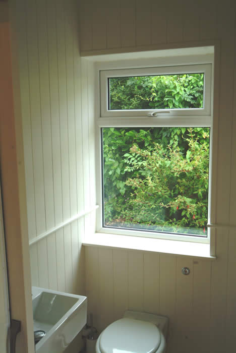 tongue and groove panelling for a small  wc room acorn cottage south wales with sykes cottages