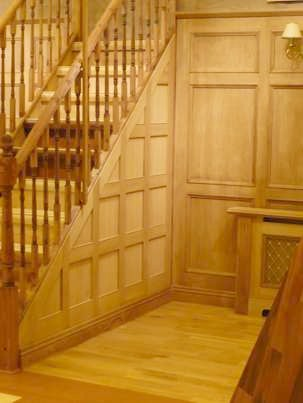 wood panelling for walls by wall panelling experts british made