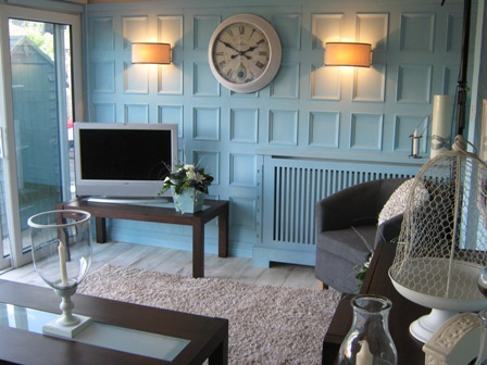 conservatory wall panelling by wall panelling for ITV1 60mm london