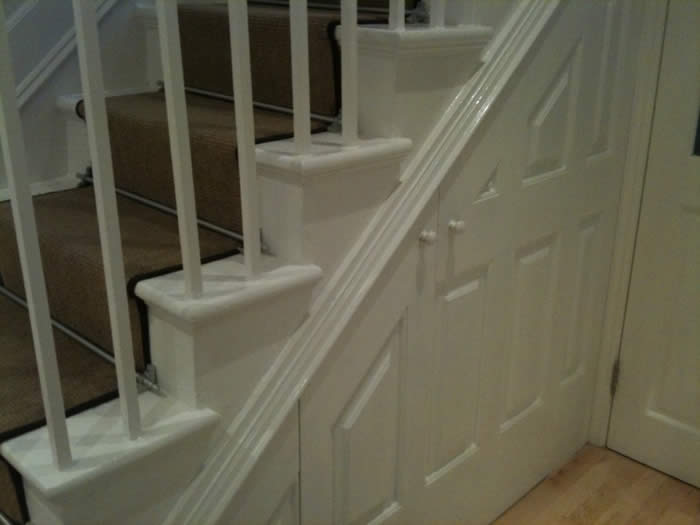understairs wall panelling