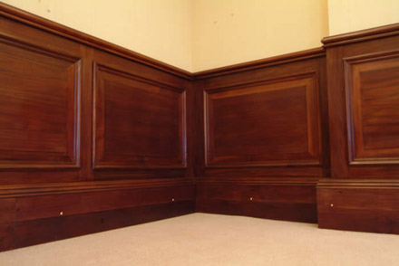 chilean embassy refurbishment london  by wall panelling experts british made