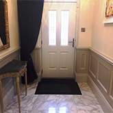 entrance hall beaded wall panelling made in Britain